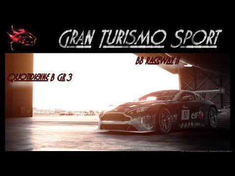 Gt Sport | Course quotidienne | BB RaceWay II | Aston Martin V12 Gt3