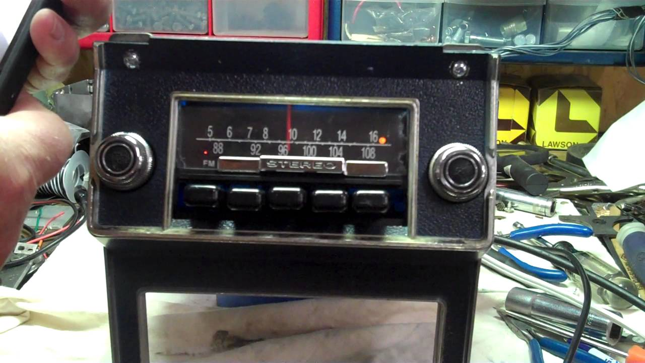 Original 1969 AMFM Stereo Ford Mustang Radio Conversion