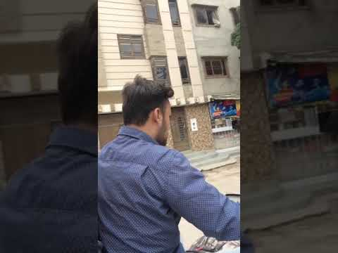 Best way to travel in karachi, Pakistan is a motorbike