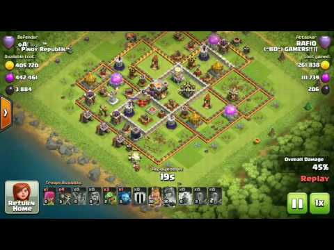 5427 NEW TH9 RECORD OF BANGLADESH by #RAFIO (BD Gamers) - See The Attacks!! Clash on!! Episode-1