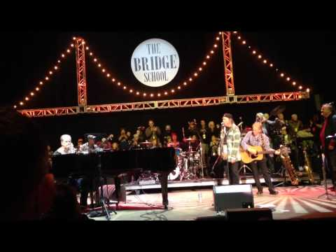 """Brian Wilson & Neil Young - """"Surfin' USA"""" (partial) 10/26/14"""