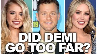 Demi Burnett Offers Colton Underwood Some Backhanded Dating Advice - No Tracking!