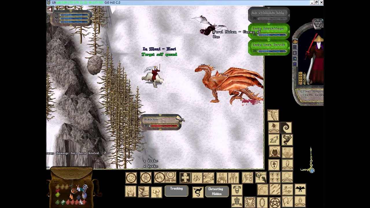 Ultima Online random spawn and idoc