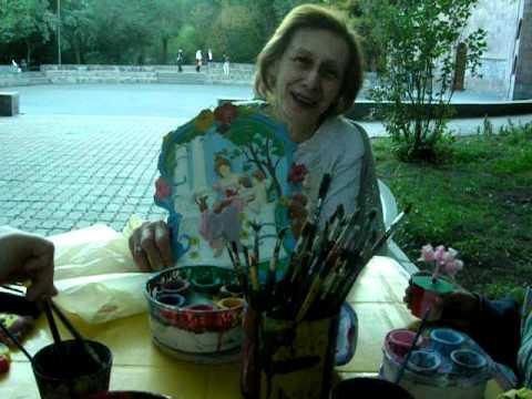Парк Детства. Ереван 2008. Тикин Джулия,внук  Ваан и Инга
