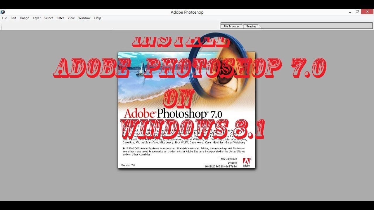 Adobe Photoshop CS4 free download torrent | Sosha