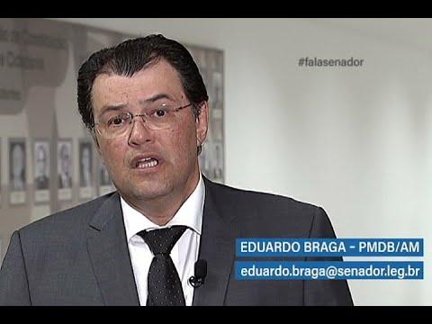 #falasenador: Eduardo Braga defende penitenciárias agrícolas