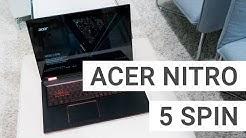 Acer Nitro 5 Spin Kurztest: Ist ein Gaming-Convertible sinnvoll? | Deutsch