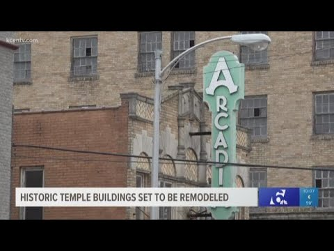 News Around The Lone Star State - Historic buildings in downtown Temple set to be remodeled in 2019