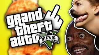 BONJOUR LES YOUTUBERS! (GTA 5 Xbox One)