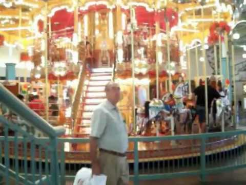 Carousel Sunrise mall Brownsville Texas Usa - YouTube