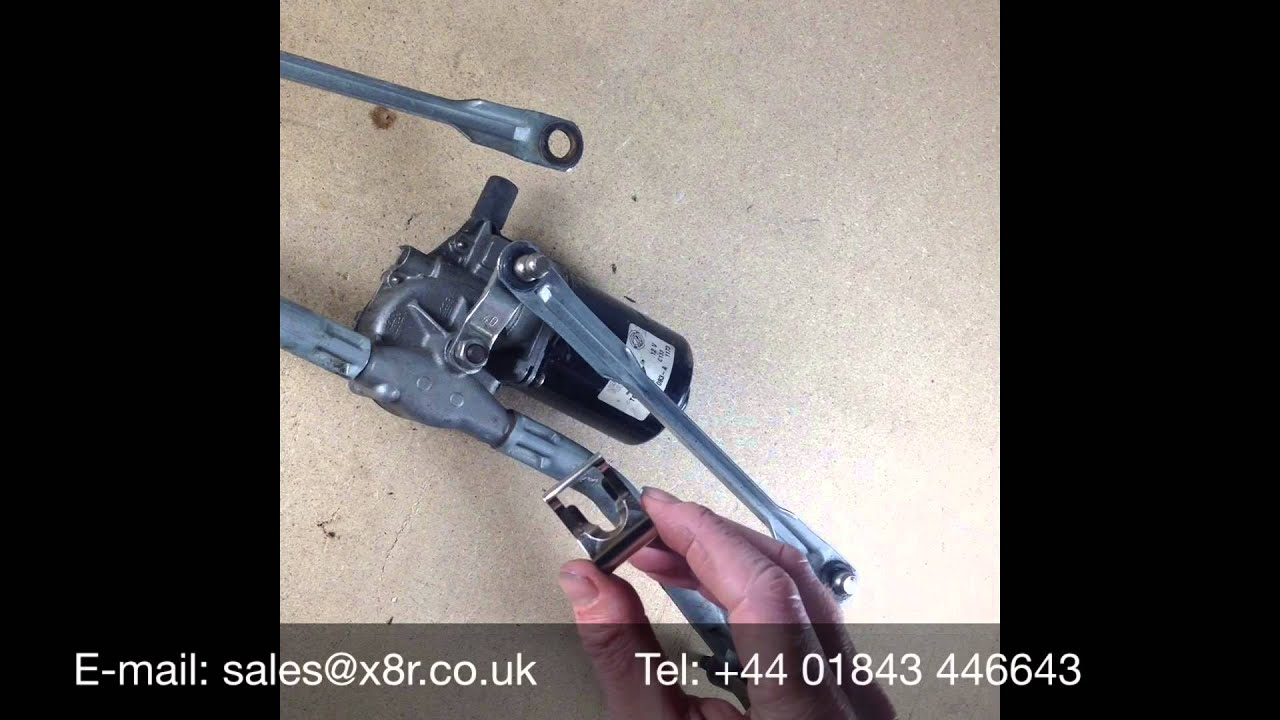 Windscreen Wiper Linkage Motor Repair Clip Repair Fix Kit Install Youtube