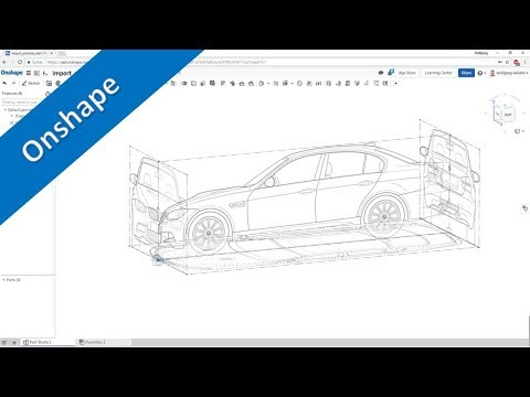 Import & Scale Images - Onshape Training - Part Design - YouTube on