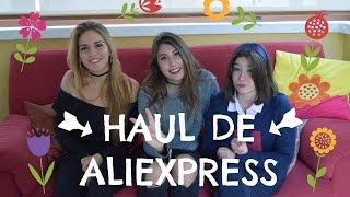 HAUL DE ALIEXPRESS || ROPA, MAKE-UP...