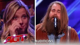 Chris Klafford: Swedish Idol Winner Has The American Crowd In TEARS! | America's Got Talent 2019