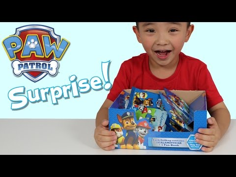 Thumbnail: Paw Patrol Toys Surprise Blind Bags Opening Fun With Ckn Toys Chase Marshall Rocky