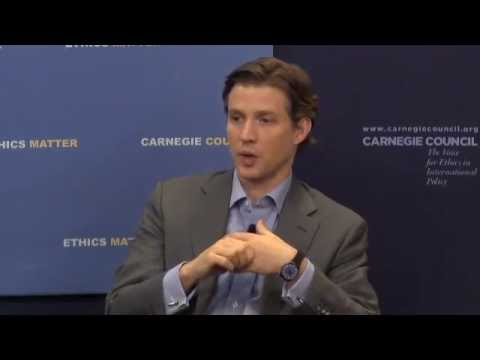 Global Ethics Forum: The Industries of the Future with Alec Ross