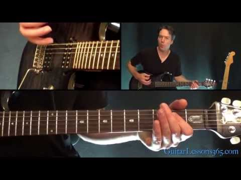 Mr. Brownstone Guitar Lesson - Guns N' Roses - Chords/Rhythms