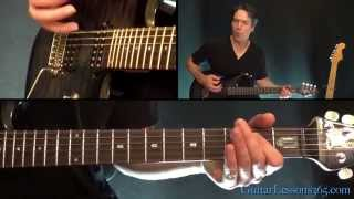 Mr. Brownstone Guitar Lesson - Guns N