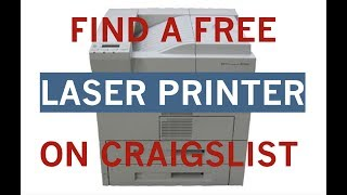 Find an 11x17 Laser Printer on Craiglist for Almost Nothing!