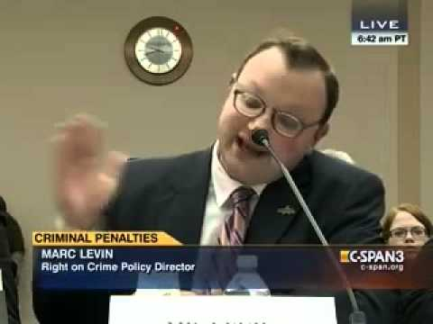 Marc Levin testifies before the U.S. House Judiciary Committee