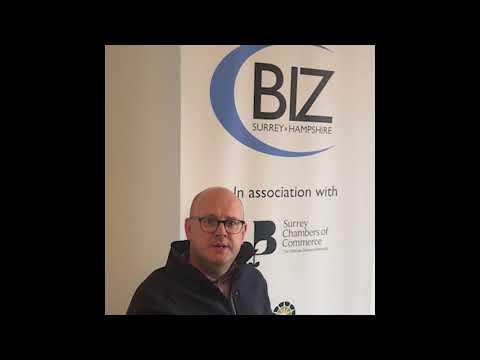 Dan May from Ramsac spoke to Biz Surrey and Hampshire