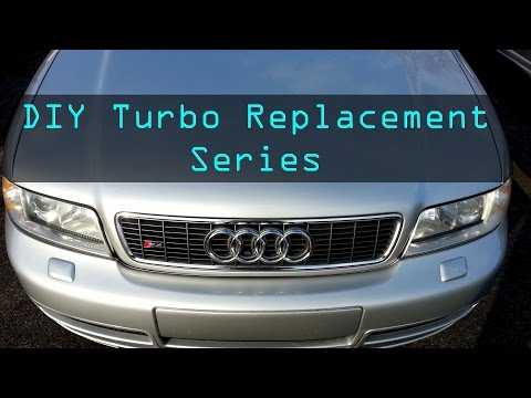 2002 Audi S4: Ep. 129 – DIY Turbo replacement