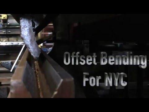 NYC Steel Bending Steel Forming by Allied Steel NYC -Video