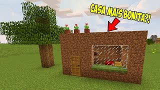 CASA MAIS BONITA DO MINECRAFT?! | A CASA MAIS ENGANADORA ! (MINECRAFT)