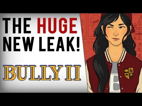 Bully 2 - NEW LEAK! Coming After RDR2, Voice Actor Characters, College Setting & More!