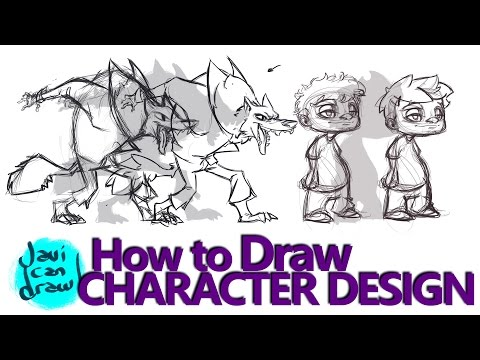 WHAT I LEARNED FROM DRAWING CHARACTER DESIGN - A Process Tutorial