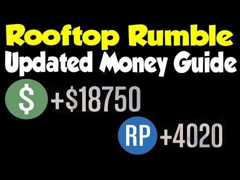 GTA 5 Online - UPDATED Rooftop Rumble Strategy & Money Guide! (After Patch 1.13) [GTA V]