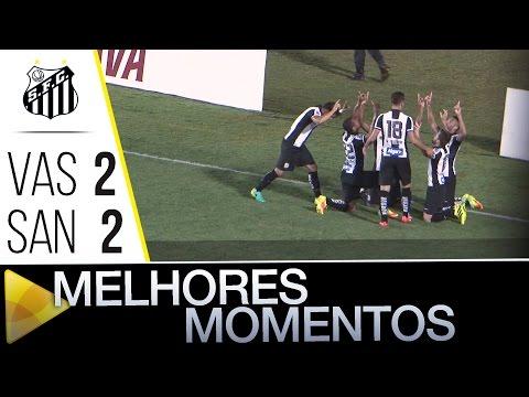 Vasco 2 x 2 Santos | MELHORES MOMENTOS | Copa do Brasil (21/09/16)