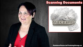 Scanning Documents For Your Taxes