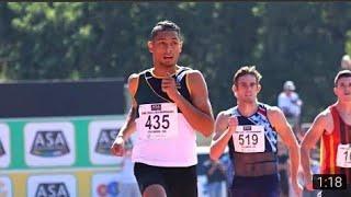 Wayde van Niekerk runs 44.97 at Nationals