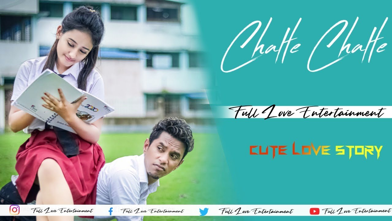 Chalte Chalte | Mohabbatein | udbhav | Cute Love Story | Shahrukh Khan | by full Love Entertainment