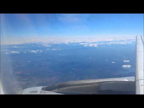 Lufthansa airbus  A321 FULL FLIGHT ROME TO FRANKFURT