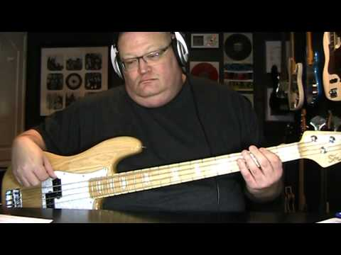 Foreigner Waiting For A Girl Like You Bass Cover with Notes & Tablature