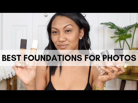 TOP 5 Foundations for Photos + Tips to avoid FLASHBACK!