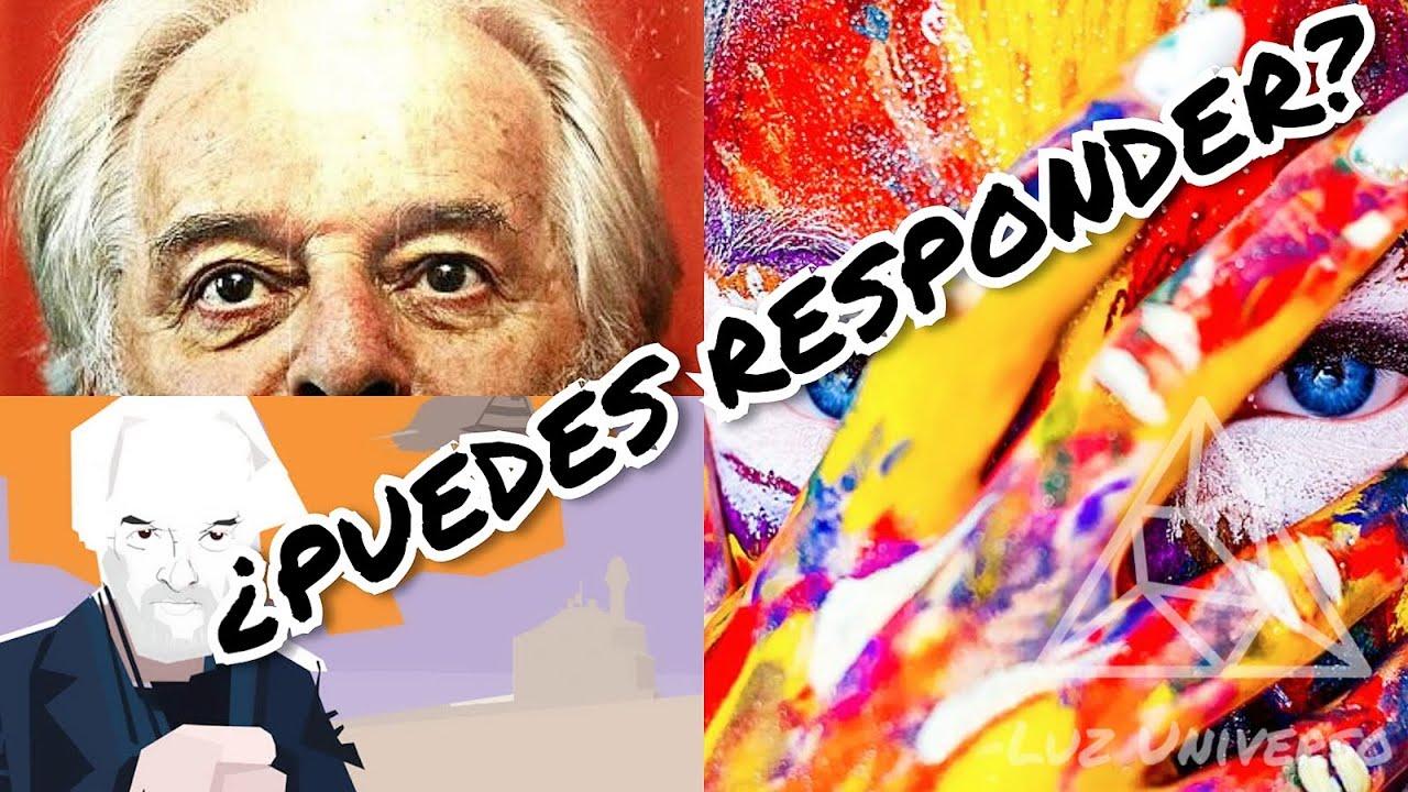 RESPONDE ESTÁS PREGUNTAS Y ESTARÁS EXPANDIENDO TU CONCIENCIA: Preguntas de Jodorowsky