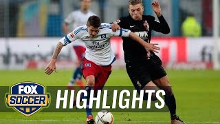 Video Gol Pertandingan Hamburger SV vs FC Augsburg