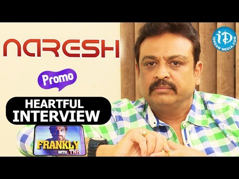 Actor Naresh Exclusive Interview - Frankly with TNR - Promo    Talking Movies