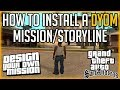 How To Install And Play A DYOM Mission/Storyline - Tutorial