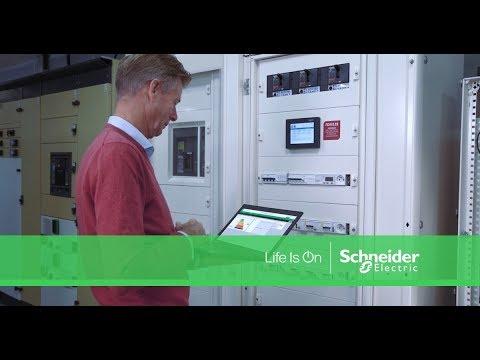 Dites bonjour au tableau connecté, une solution EcoStruxure™ Power de Schneider Electric
