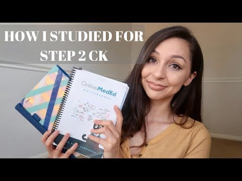 HOW I STUDIED FOR STEP 2 CK + SCORE REVEAL!