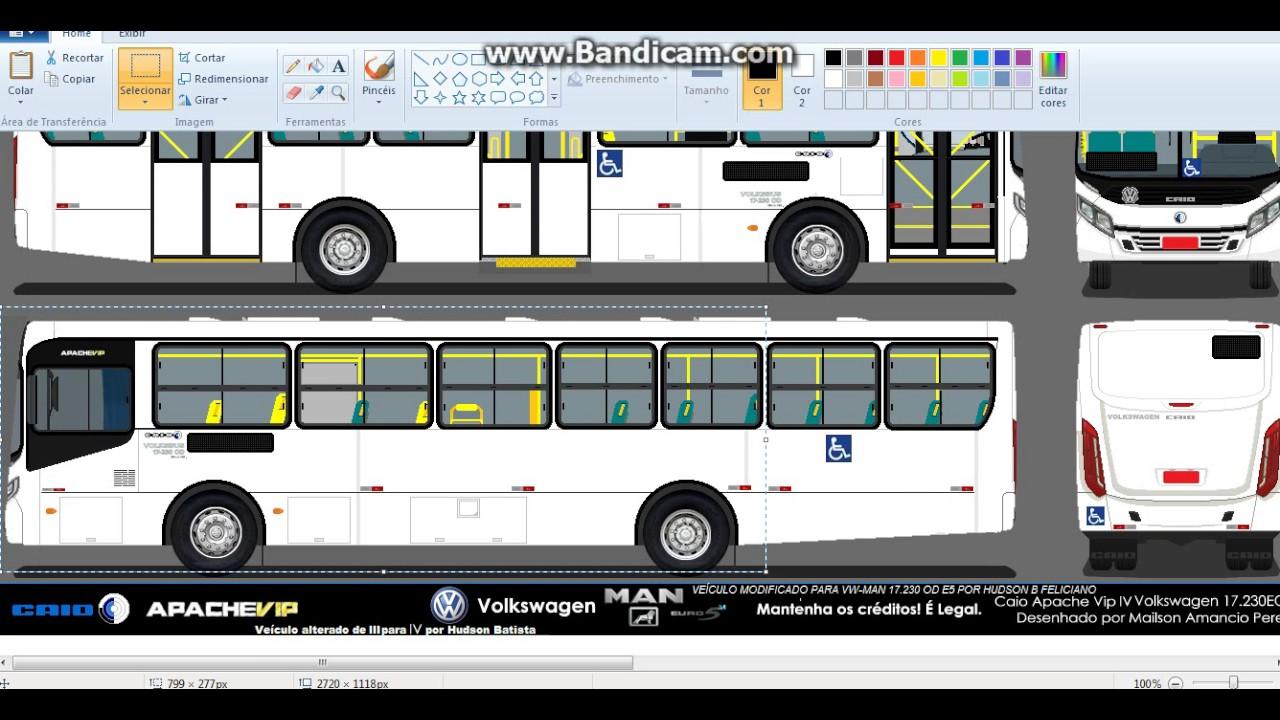 Apache Vip 4 Biarticulado Desenho Miniatura Youtube