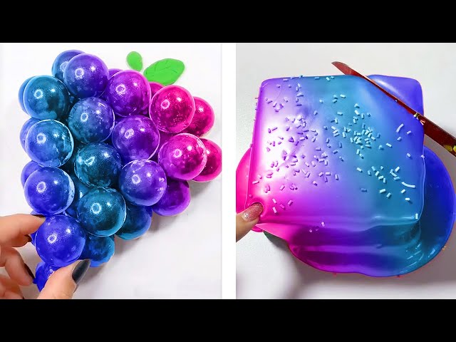 Oddly Satisfying FAST Slime ASMR No Music Videos | Relaxing Slime 2020 | 17