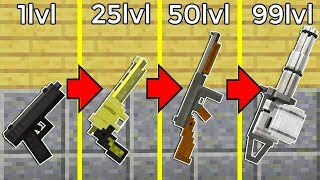 DE ARMA NOOB A ARMA PRO 🔫 ARMAS DE FUEGO EN MINECRAFT 😱 TROUBLE IN TERRORIST TOWN thumbnail