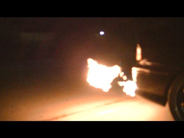 How to make a car Shoot Flames