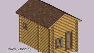 Программа для проектирования деревянных домов