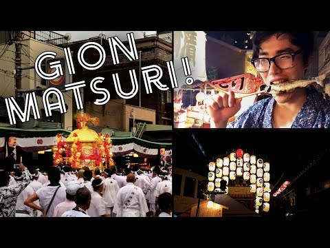 Gion Matsuri! The Biggest Festival in Kyoto!